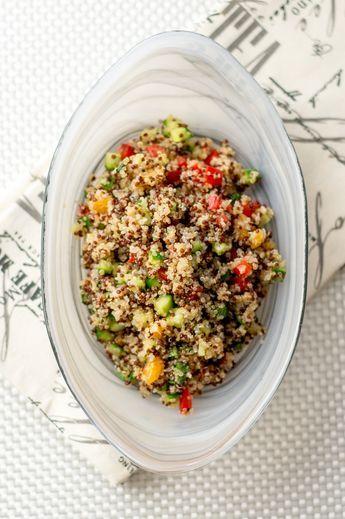 Salade de quinoa : un choix frais et santé