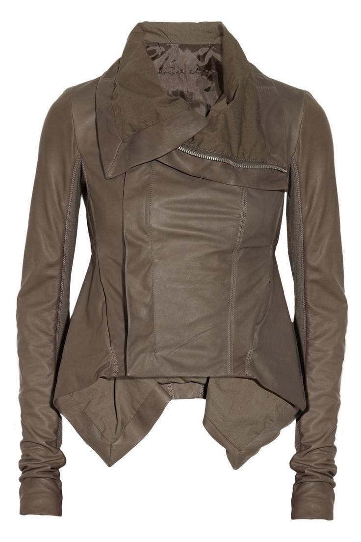 Rick OwensFashion, Style, Coats Closets, Buy Rick, Leather Jackets, Owens Naska, Naska Leather, Rick Owens, Leather Biker Jackets