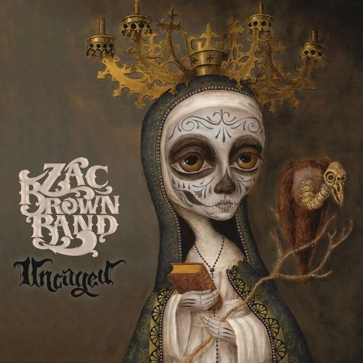 Zac Brown Band Uncaged On Vinyl Lp Brown Band Zac