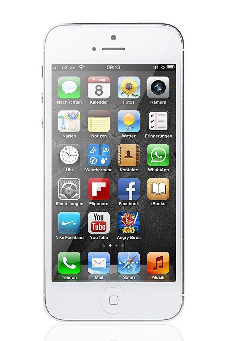Apple iPhone 5 Weiß 64GB Smartphone EUR 229,00