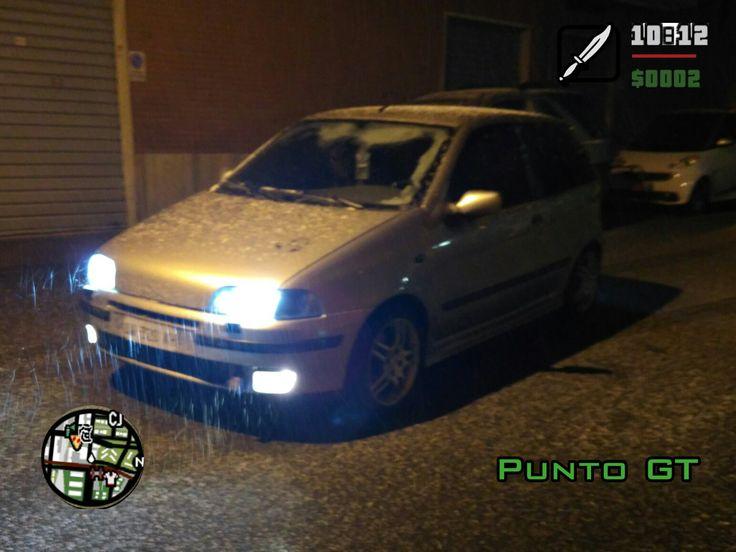 Grand Theft Auto San Andreas GTA PUNTO GT