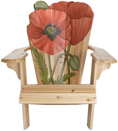 Bird Brain B306 Blooming Adirondack  Chair, Poppy Bird Brain https://www.amazon.com/dp/B00005B9C1/ref=cm_sw_r_pi_dp_LpeExb0V20S0C