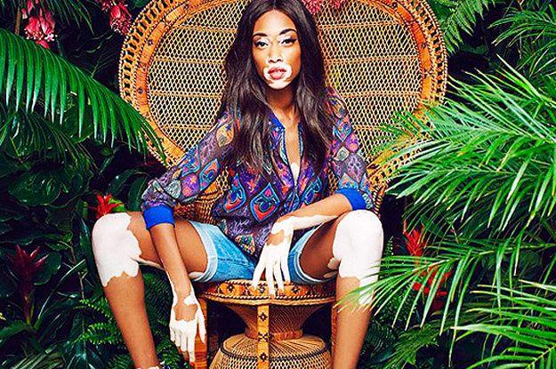 Heavenly beautiful model Chantelle Winnie