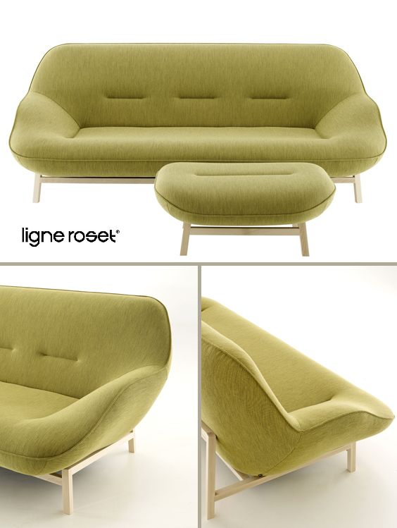 Ligne Roset | Cosse Sofa | Design By Philippe Nigro