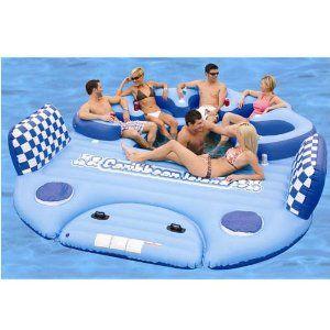 Huge pool float! Looks like fun!