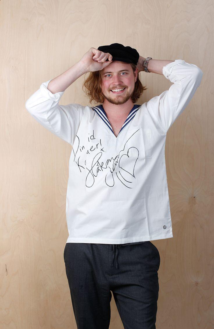 Håkan Hellström signed Sailor Shirt by emma och malena