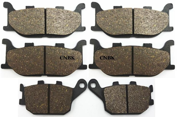 FL+FR+R Brake Pad Set for YAMAHA 600 XJ6-N / F / S Diversion XJ6 XJ6 2010 2011 2012 2013 2009 - 2014
