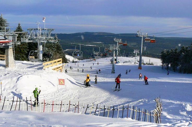 Skiing in Orlické Mountains