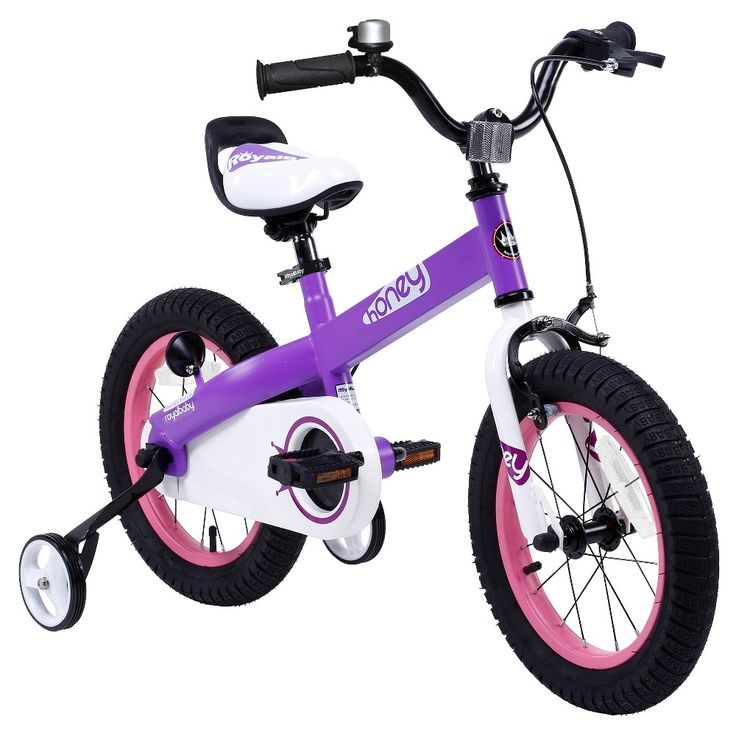 Royal Baby Girls Honey 16 Bmx Bike - Lilac (Purple)