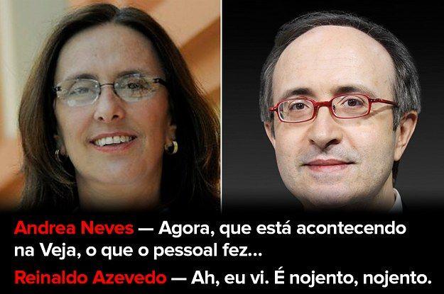 PGR anexa grampos de Reinaldo Azevedo com Andrea Neves em inquérito e colunista anuncia demissão da Veja