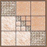 Nine Patch Variation Quilt Block