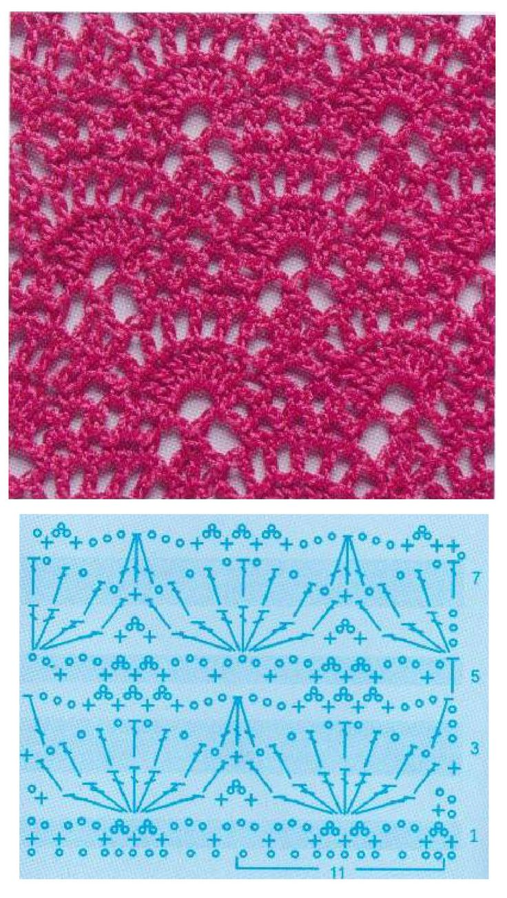 QN crochet pattern - Qingning - write a painted heart