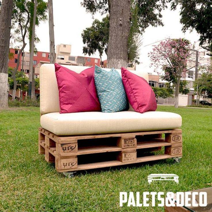 muebles de jardn con pallets ideas
