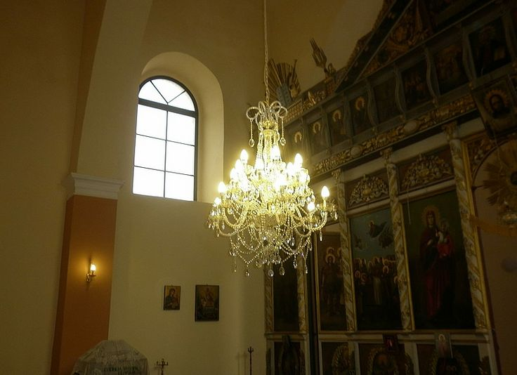 Our chandeliers in a newly reconstructed church in Bulgaria.