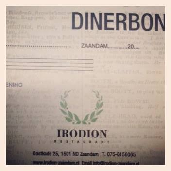 #Dinerbon #Irodion