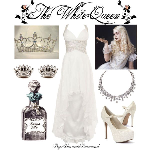 The white queen by xuanniediamond on polyvore disney for Kommode 60 x 80
