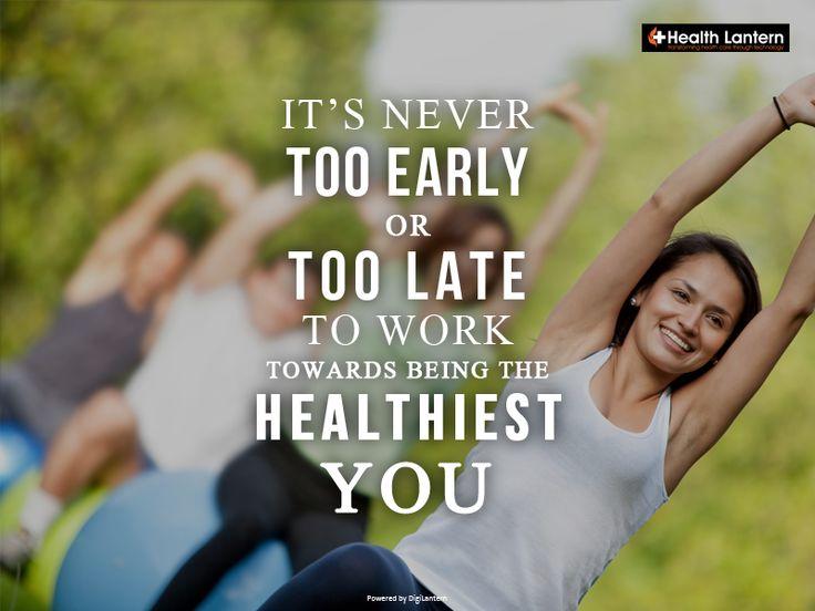 Start today! :) . . . #healthquote #healthtips #healthylife #transforminghealthcare #healthlantern