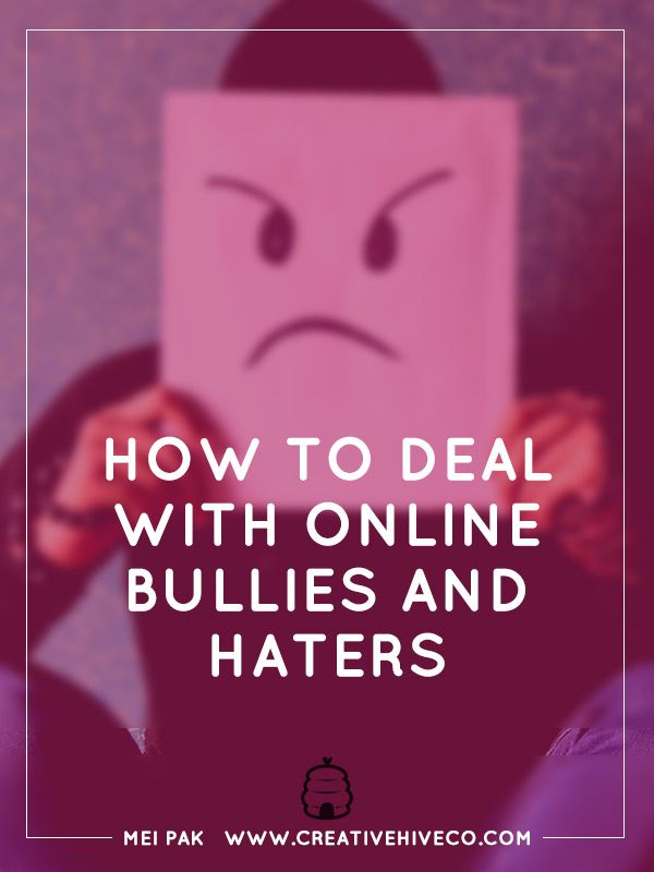How to deal with online bullies and haters // Mei Pak - Creative Hive