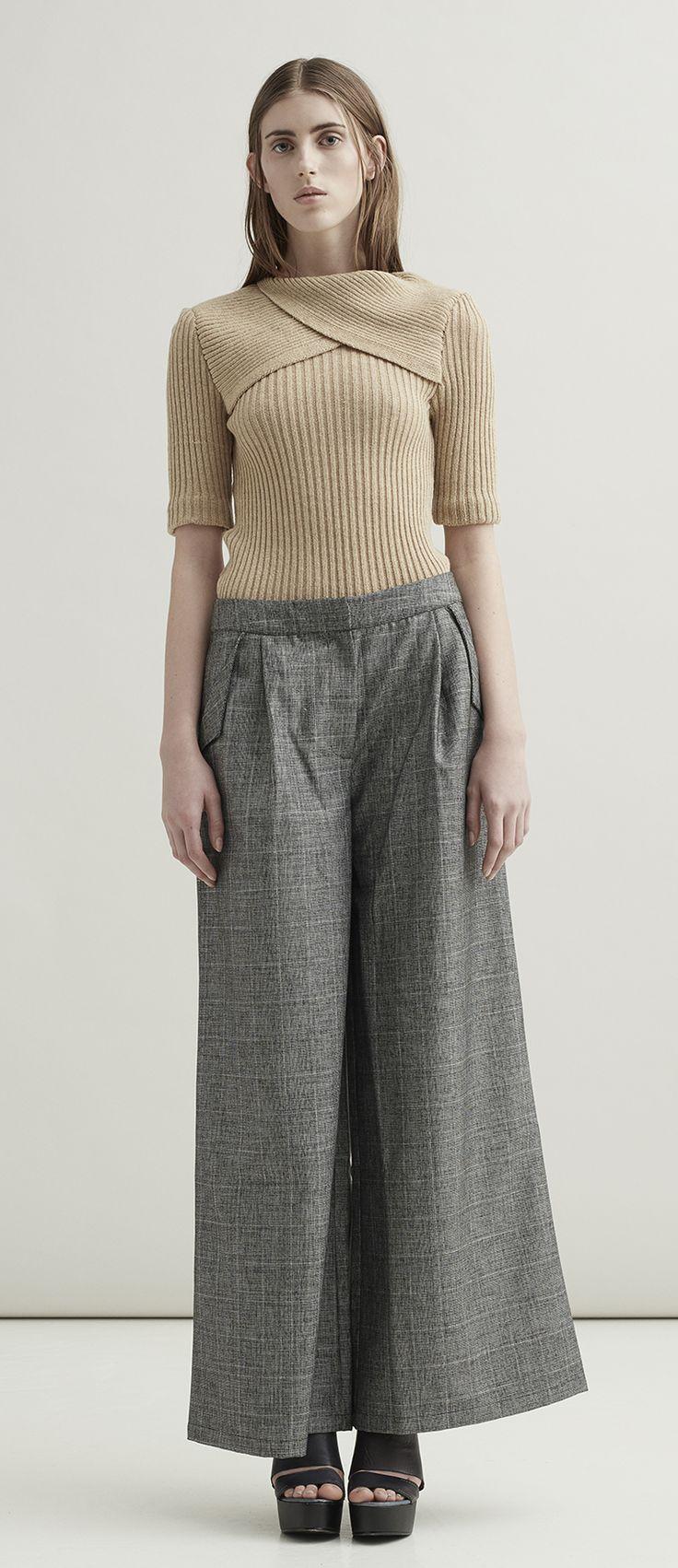 Stine Ladefoged AW16 Image Campaign, Scandinavian design, fashion, knit