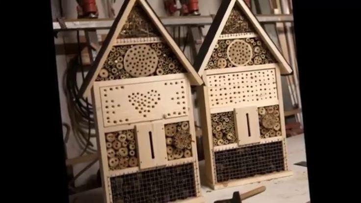 Биологическая борьба с вредителями  Отель для насекомых