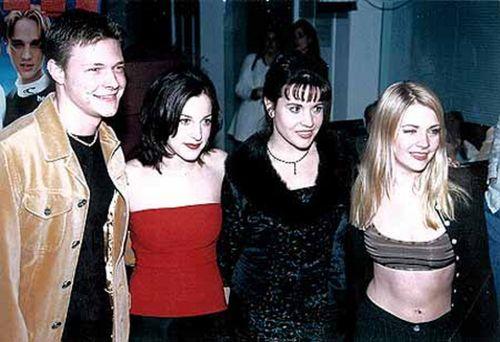Nate Richert, Lindsay Sloane, Jenna Leigh Green & Melissa Joan Hart