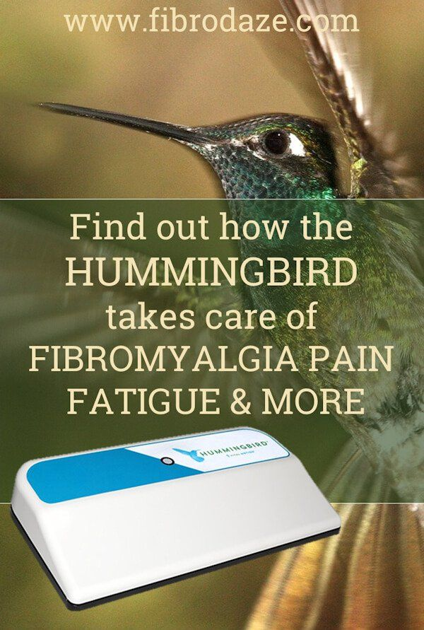 Find out how the Hummingbird takes care of Fibromyalgia pain, fatigue and more