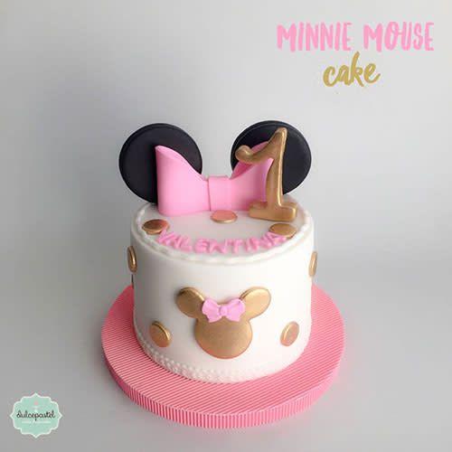 Torta Minnie Mouse Medellín by Giovanna Carrillo