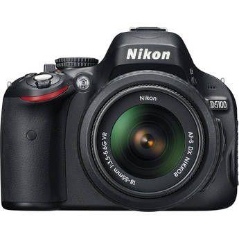 Nikon D5100 Digital SLR Camera With 18-55mm VR Lens, on sale for $646.95 until August 25th!
