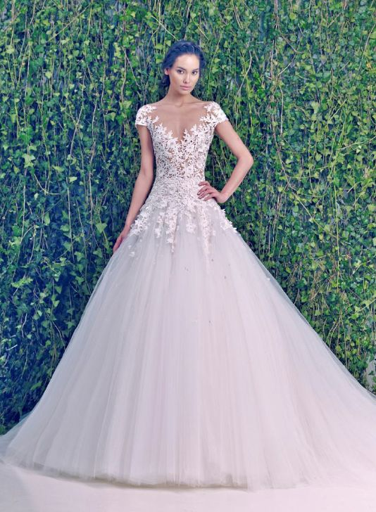 KleinfeldBridal.com: Zuhair Murad: Bridal Gown: 32942609: A-Line: Dropped Waist