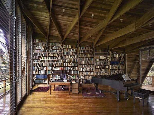 A music room / library :) #home #decor