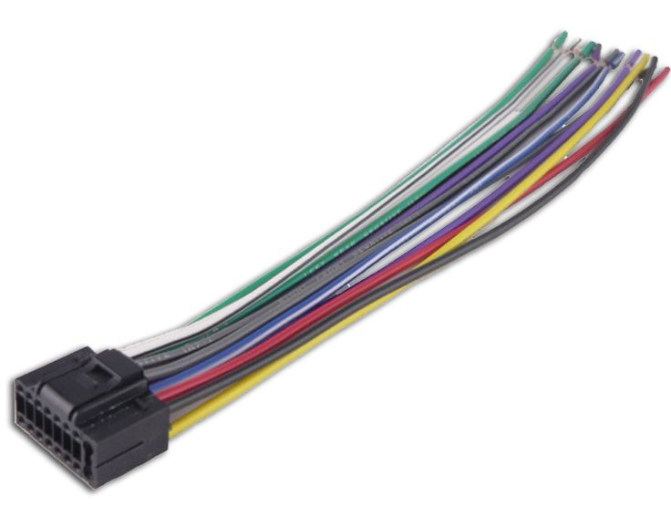 Car Stereo Wire Harness Connectors On Sony Explode Wire Diagram 16