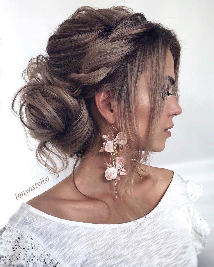 Haarmodelle und Hochzeit Haar  Frisur von Tonya Evenson Wollte diesen Sommer Frisur heute teilen! OMG #earrings von ASOS.com (no longe