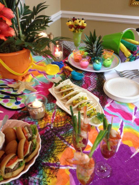 e-How Video on Throwing an Indoor Beach Party | Barbara Garneau Kelley