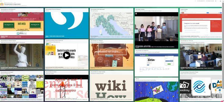 panoramica su strumenti utili per documentare attività ed esperienze nel mondo della scuola, per chiarirne modalità e possibilità