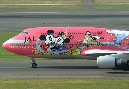 Artistically Painted Funny Aeroplanes 2