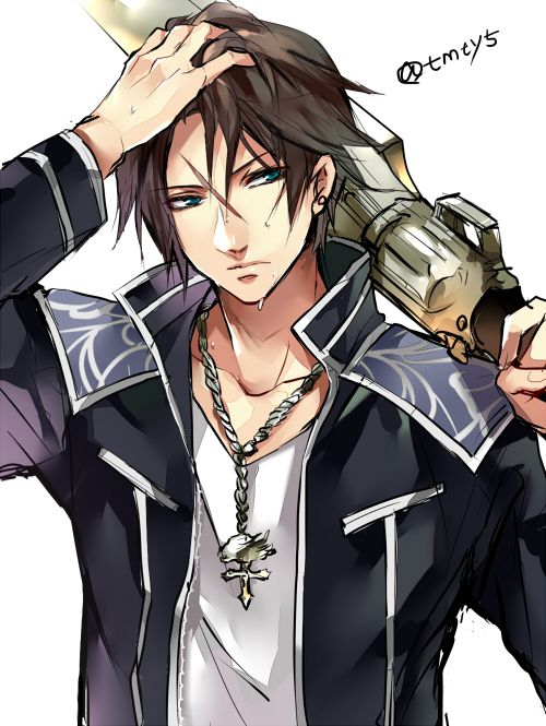 Squall Final Fantasy VIII #FFVIII 8