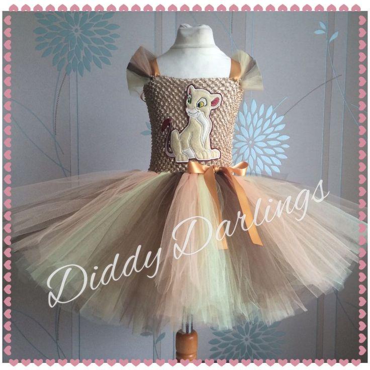 Nala Tutu Dress Lion King Tutu Dress Nala Party Fancy Christmas Halloween #DiddyDarlings #CasualFormalParty