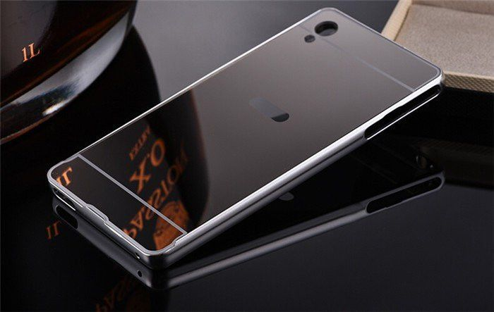 Sony Z3/Z4/M4 Ultra Thin Mirror Case