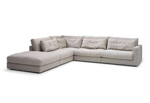 corner sofa  | Mauro Corner Sofa by Linteloo, design at STYLEPARK