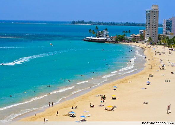 Isla Verde, San Juan, Puerto Rico- two of the most awesome months of my life!