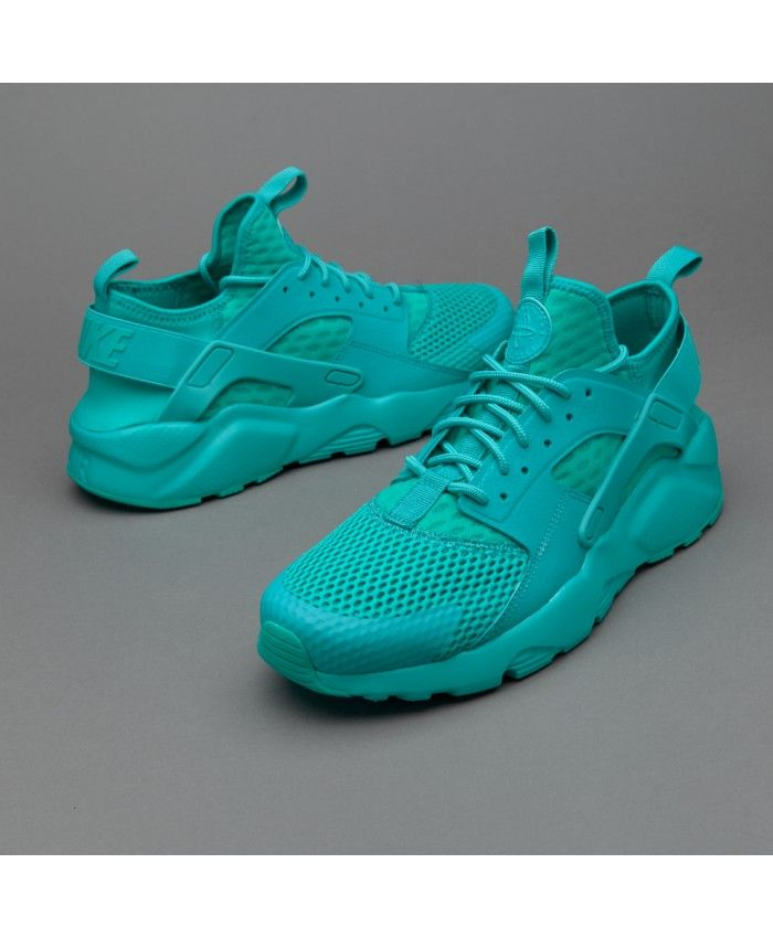 Nike Air Huarache Ultra Breathe All Deep Green Trainer The biggest feature  of the shoes is