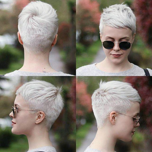 Sehr Kurzhaarfrisuren Frauen für Feines Haar 28 | Frisuren ...