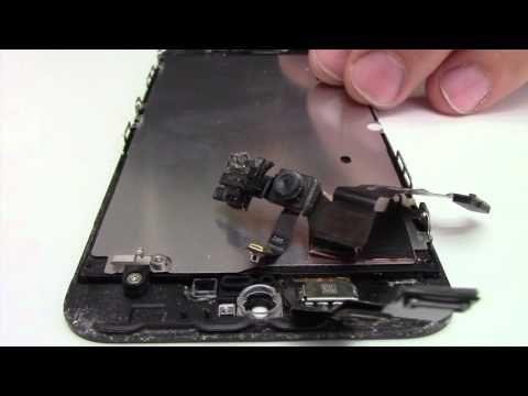 Tutoriel : Remplacer écran iPhone 5S - YouTube