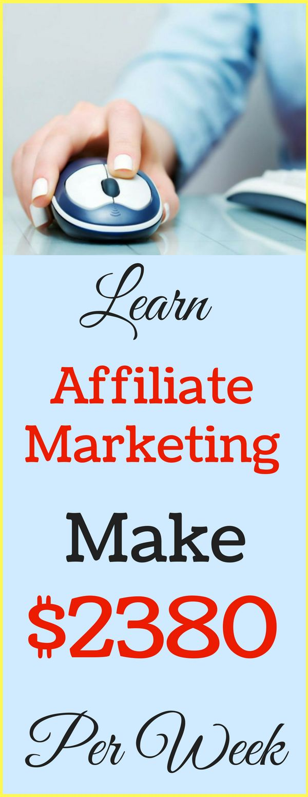 Affiliate marketing the best way to Make money online in 2017. Simplest guide to earn passive income online from home. Start making $2380 per week with affiliate marketing program from genuine top 3 companies on Internet . Click to see now >>>