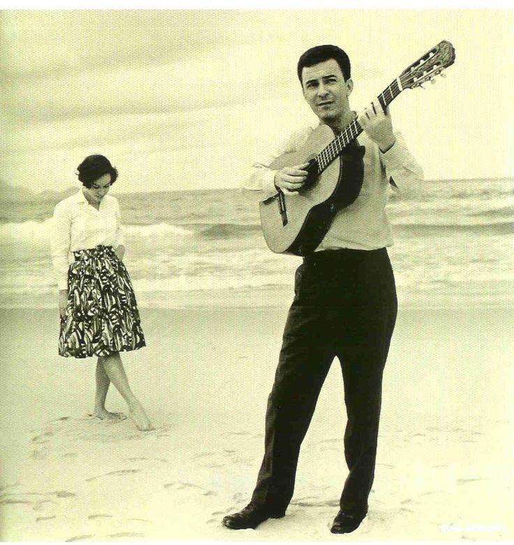 Astrud Gilberto e João Gilberto em Copacabana.