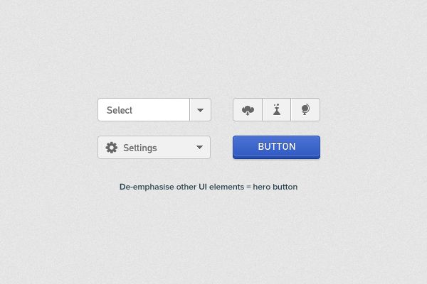 Principles for Successful Button Design