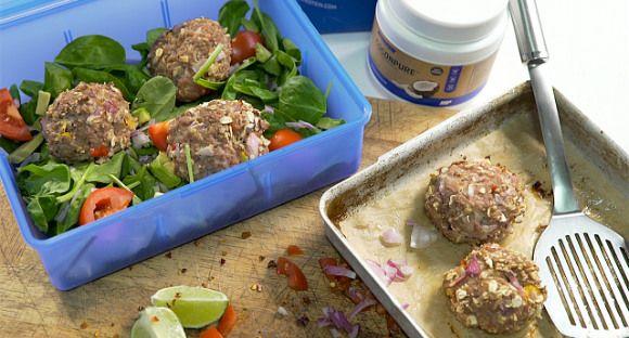 Hambúrgueres de peru com chili e lima - The Zone Portugal - Guia de nutrição, suplementação e treinos