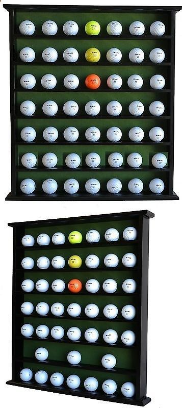 Golf Gifts - Other Golf 630: Golf Gift 49-Ball Cabinet Display Case Rack Black Gb20-Bl -> BUY IT NOW ONLY: $37.99 on eBay!