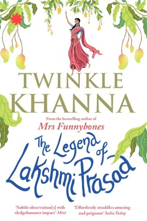 The Legend of Lakshmi Prasad! Twinkle Khanna is all set to tickle your funnybones with her next book | PINKVILLA