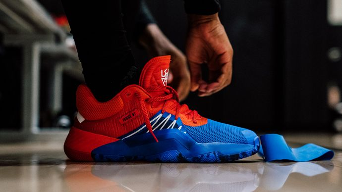 Adidas Unveils New Spider Man' Inspired Basketball Sneaker